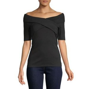 Lord & Taylor Off the Shoulder Top